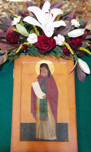 Икона прп. Макария, старца Оптинского