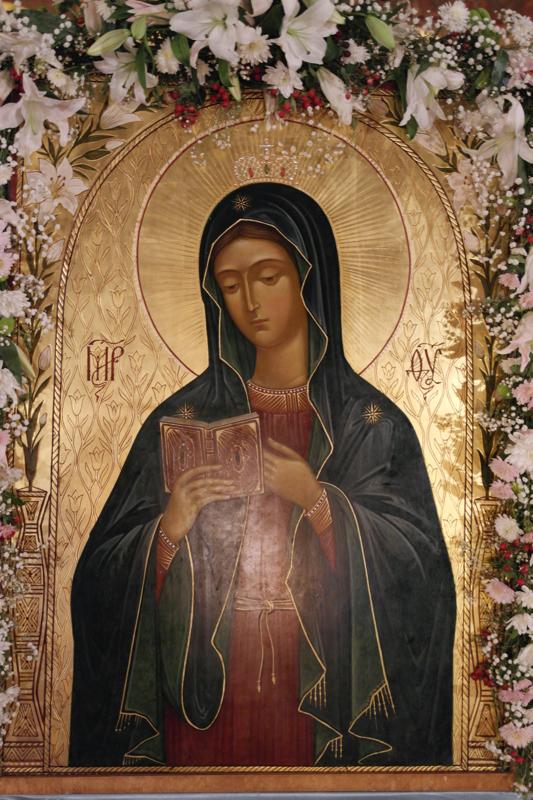 калужская икона божией матери фото