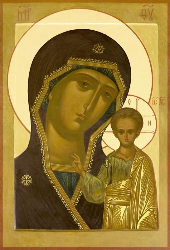 история иконы казанской божьей матери: