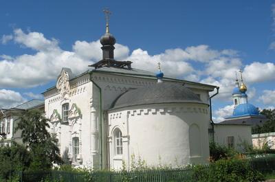 Храм в честь Илариона Великого. Оптина Пустынь
