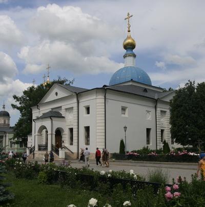 Казанский храм. Оптина Пустынь